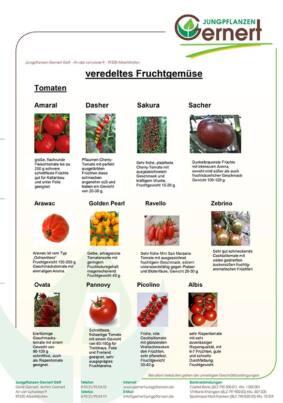 Veredeltes Fruchtgemüse